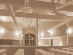 View from the main seating area